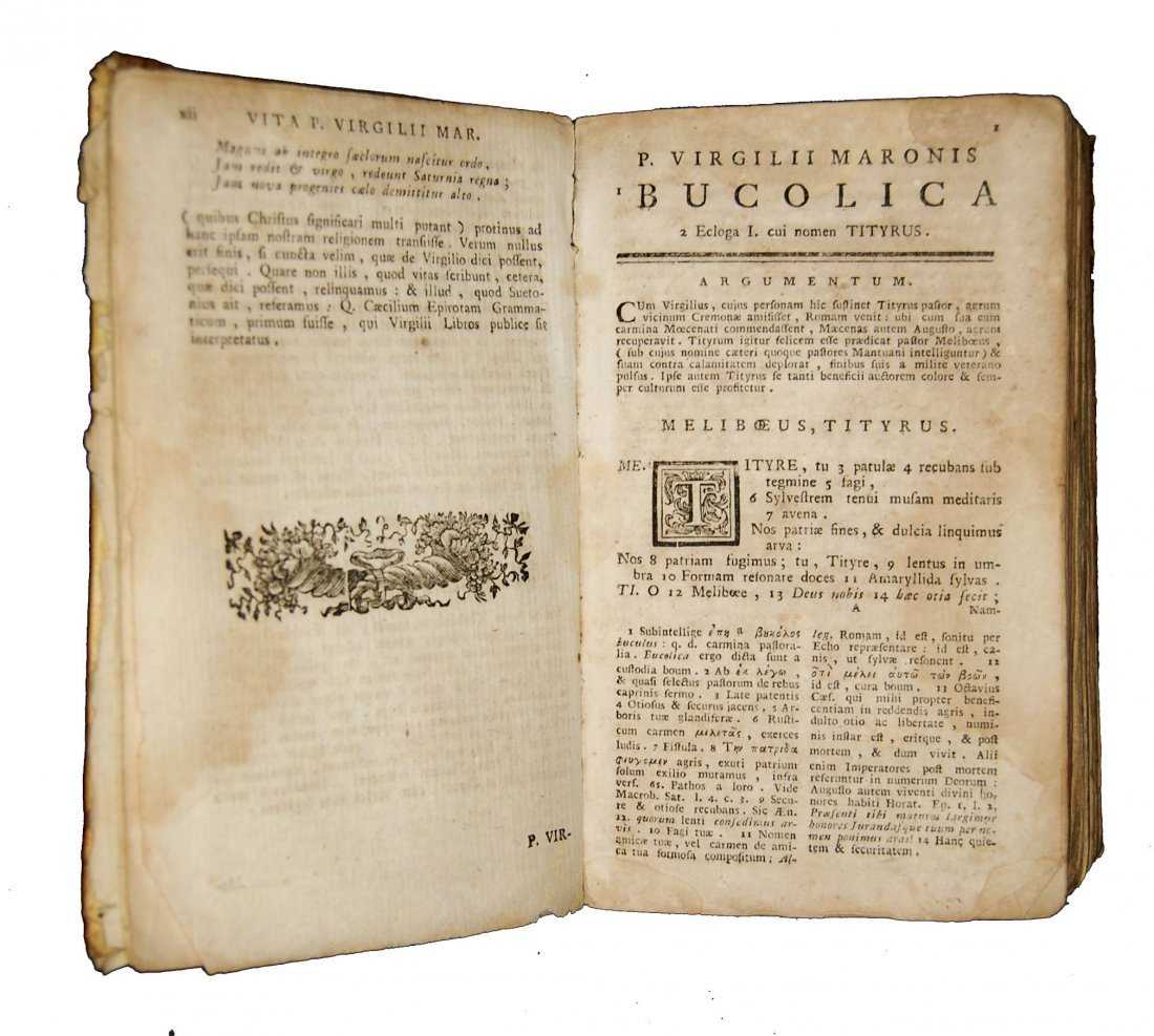 [Classics] Horatius-Ovidius-Vergilius, 1716-1858, 3 wks - 4