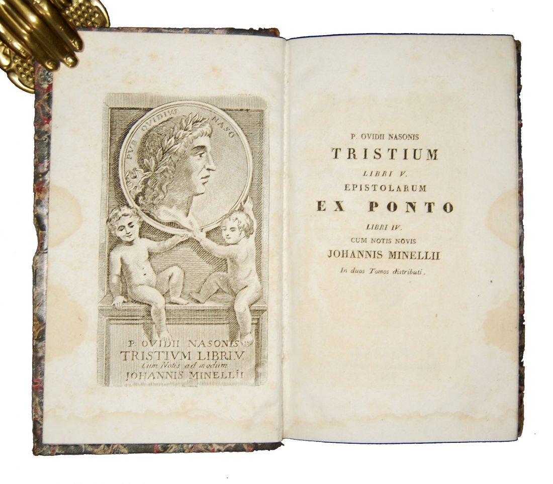 [Classics] Horatius-Ovidius-Vergilius, 1716-1858, 3 wks - 6