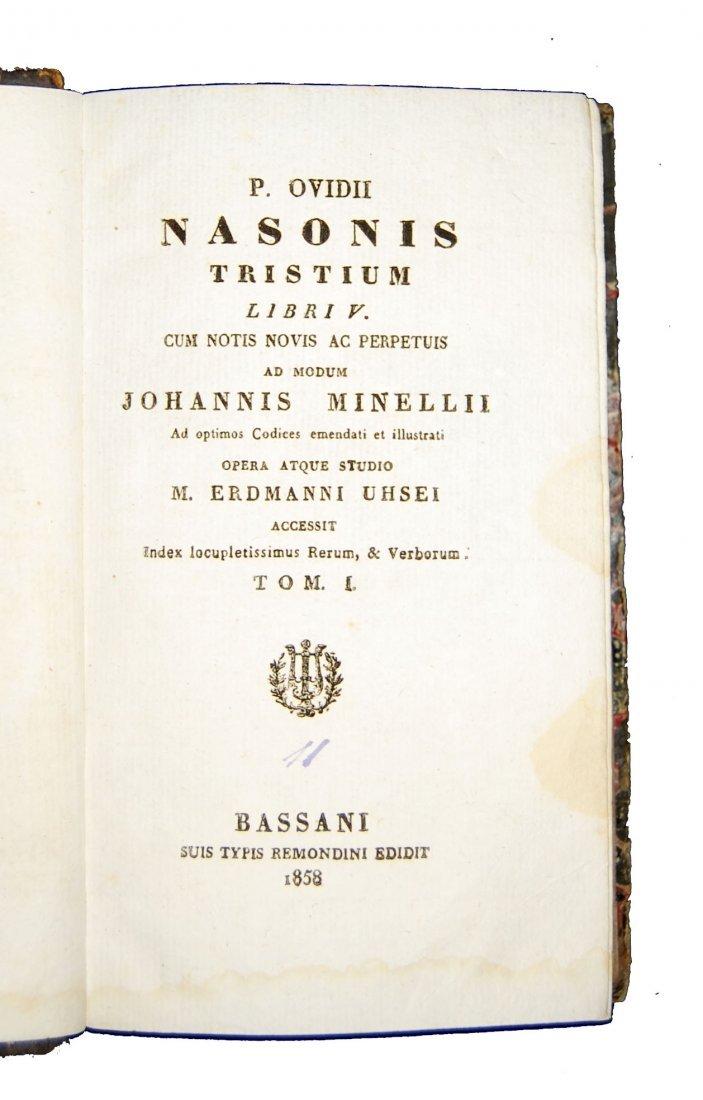 [Classics] Horatius-Ovidius-Vergilius, 1716-1858, 3 wks - 7