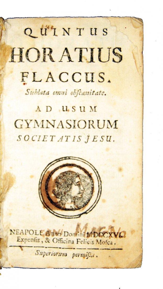 [Classics] Horatius-Ovidius-Vergilius, 1716-1858, 3 wks - 9