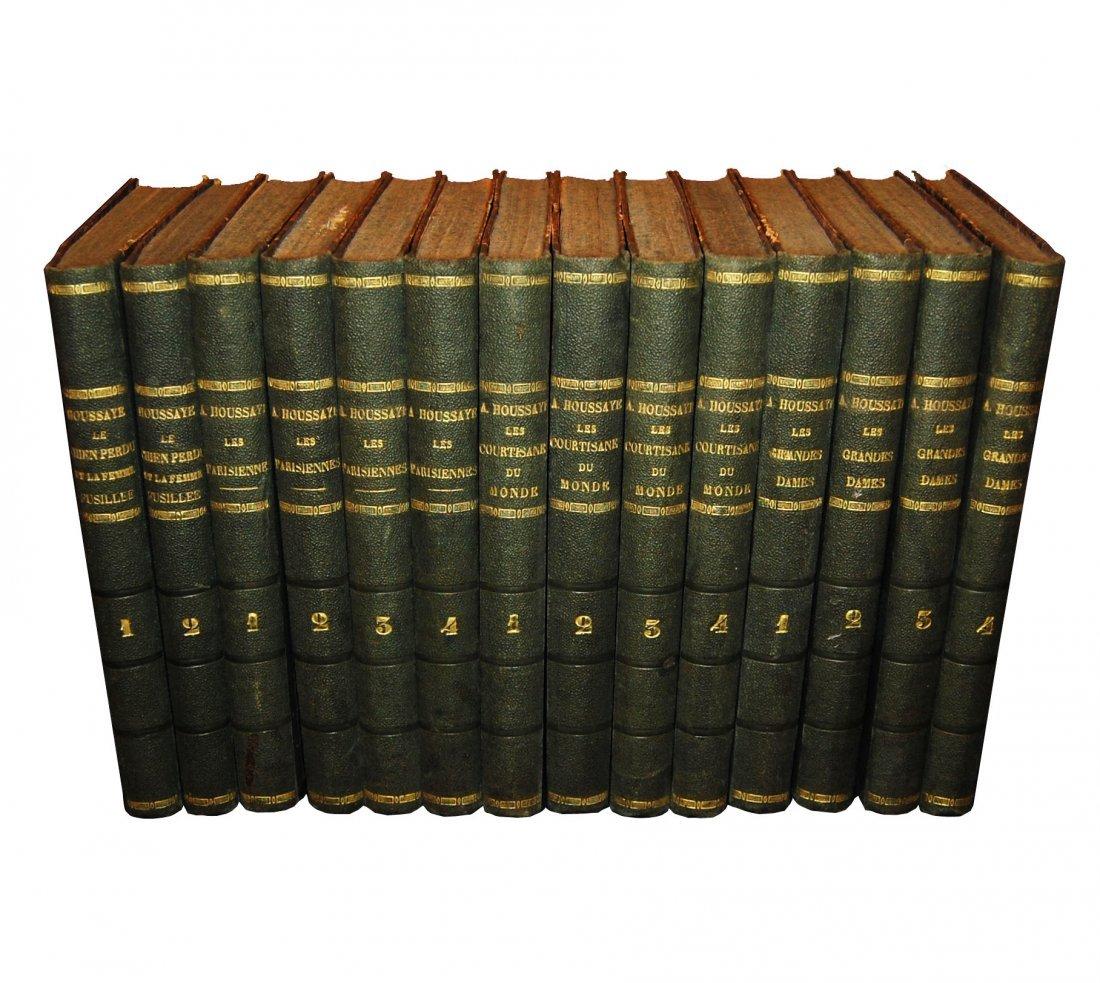 [Novels, Women] Houssaye, 1868, 4 works, 14 vols