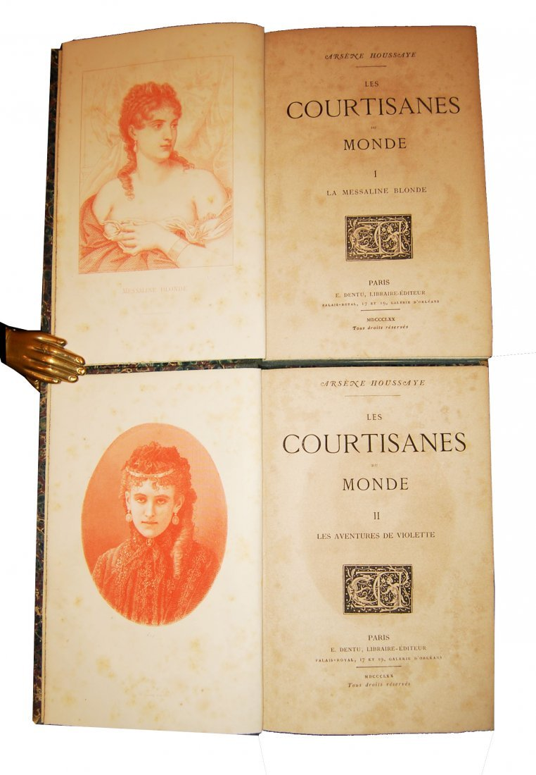 [Novels, Women] Houssaye, 1868, 4 works, 14 vols - 4