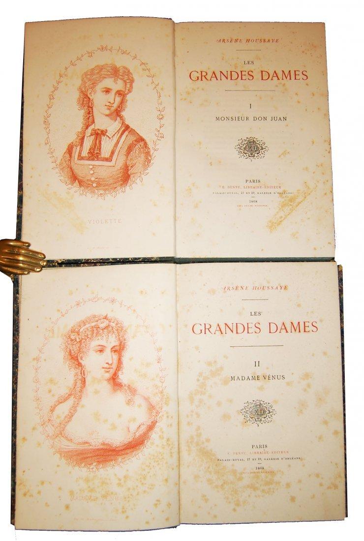 [Novels, Women] Houssaye, 1868, 4 works, 14 vols - 5