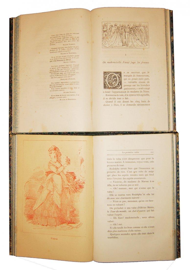 [Novels, Women] Houssaye, 1868, 4 works, 14 vols - 6