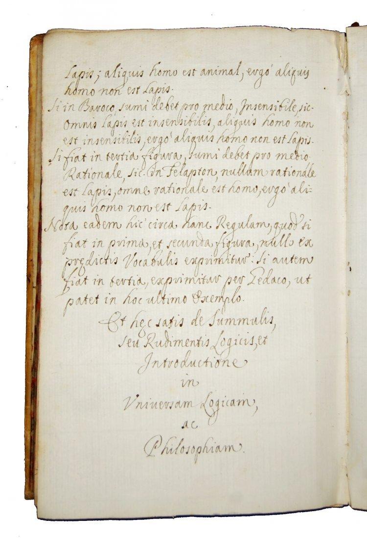 [Manuscripts, Logic, Fermo] Summule, 1679 - 10