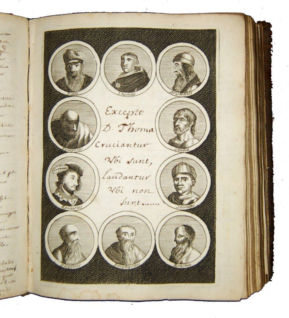 [Manuscripts, Logic, Engravings] Desvignes, 1701 - 5