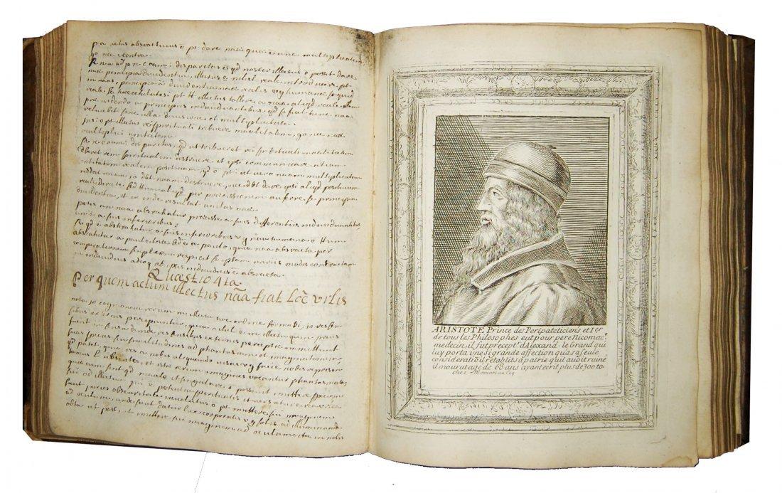[Manuscripts, Logic, Engravings] Desvignes, 1701 - 6