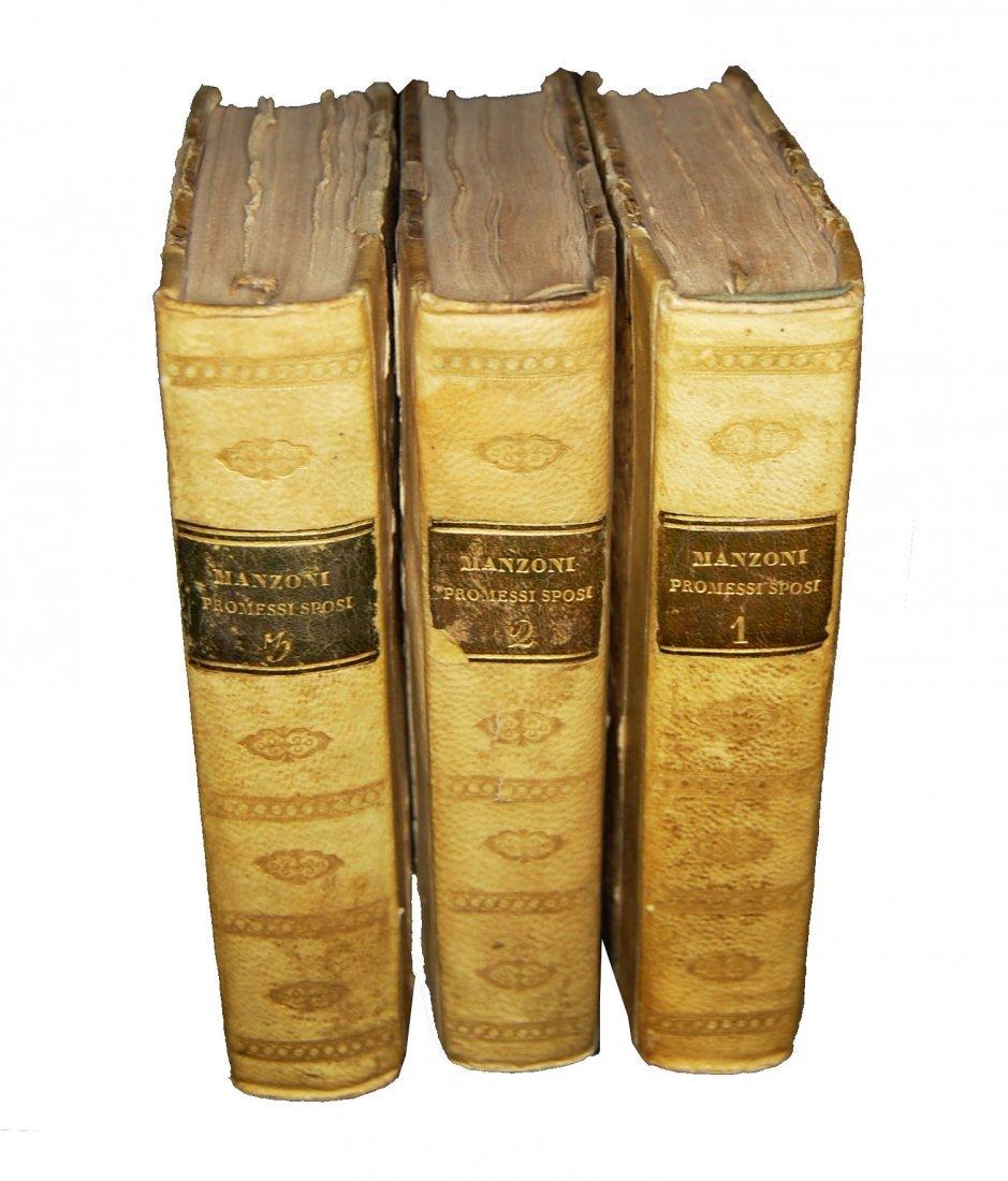 [Novels] Manzoni, I promessi sposi, 1827 3 vols - 2