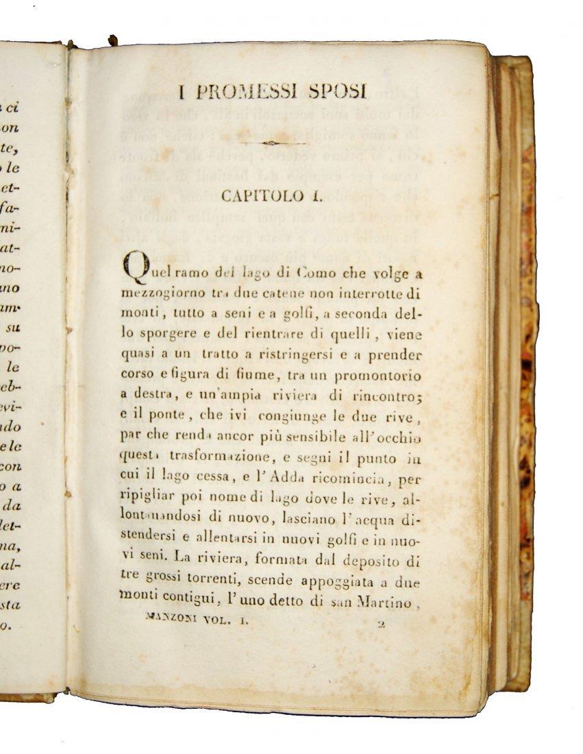 [Novels] Manzoni, I promessi sposi, 1827 3 vols - 3