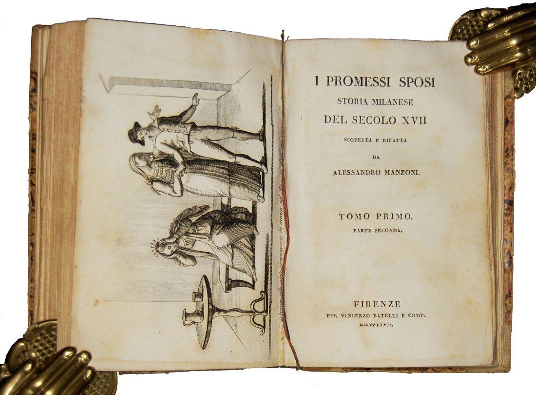[Novels] Manzoni, I promessi sposi, 1827 3 vols - 4