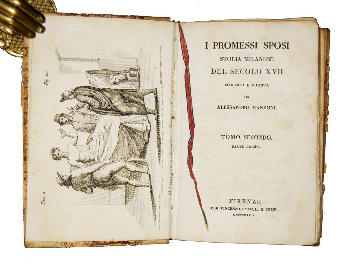 [Novels] Manzoni, I promessi sposi, 1827 3 vols - 5