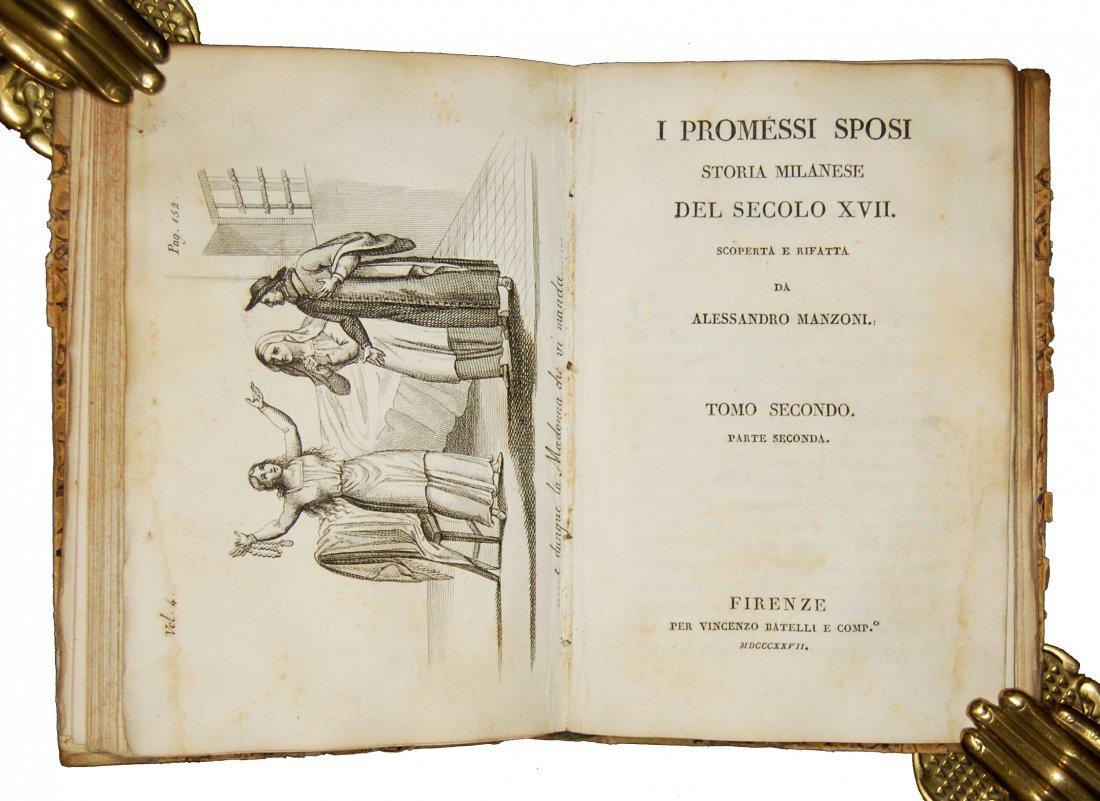[Novels] Manzoni, I promessi sposi, 1827 3 vols - 6