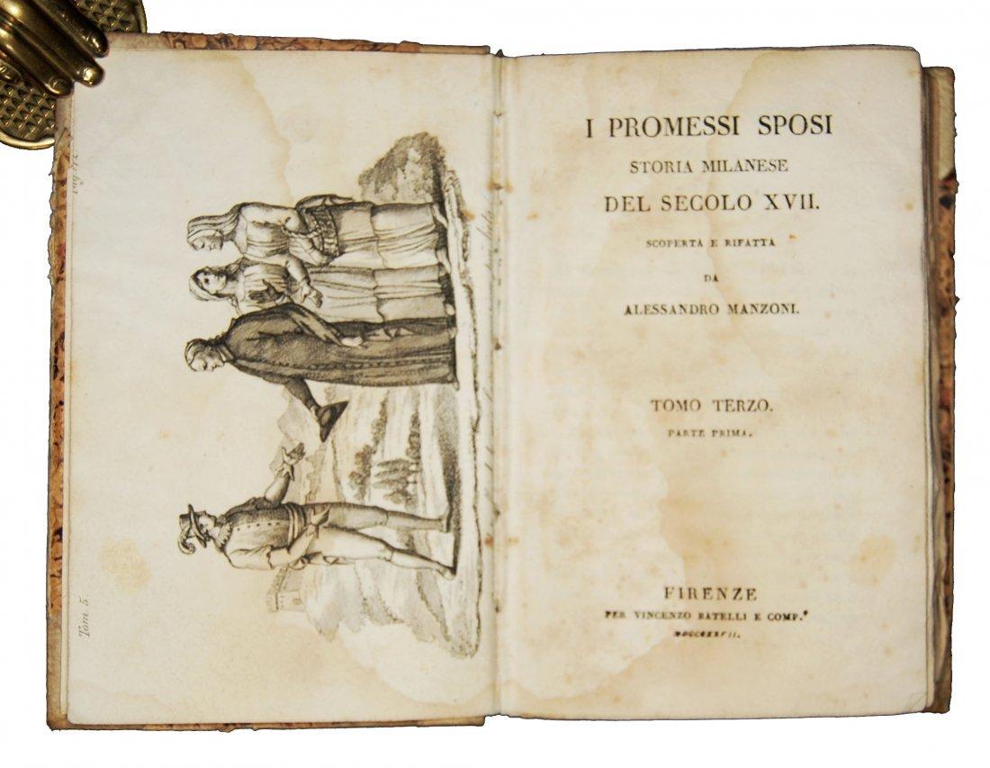 [Novels] Manzoni, I promessi sposi, 1827 3 vols - 7