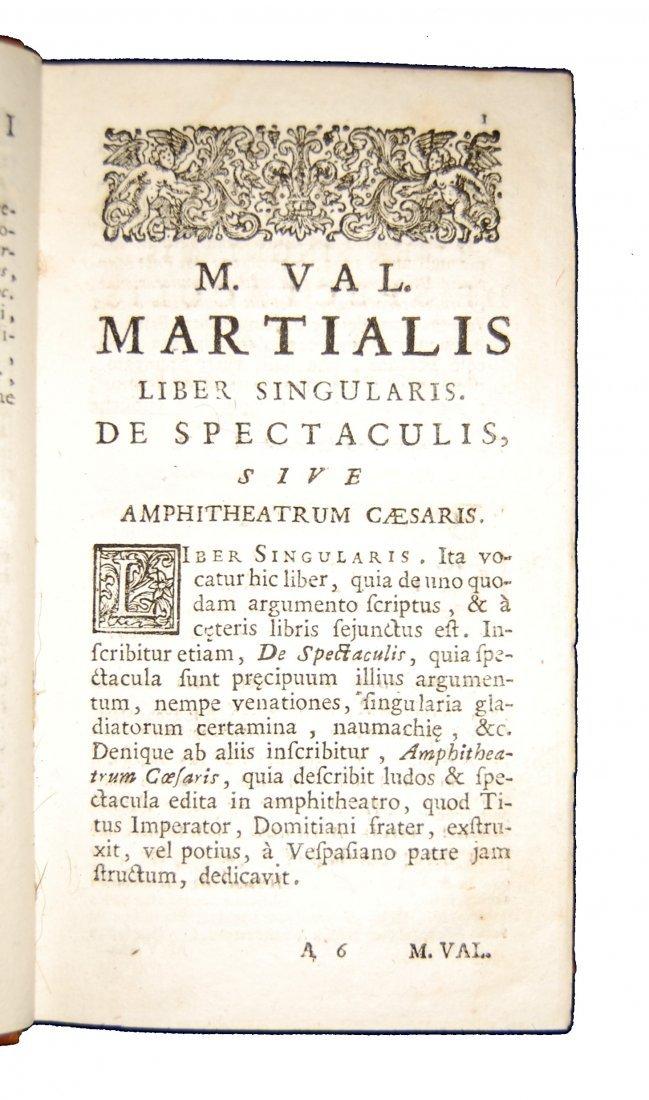 [Classics, Epigrams] Martialis, Epigrammata, 1728 - 3