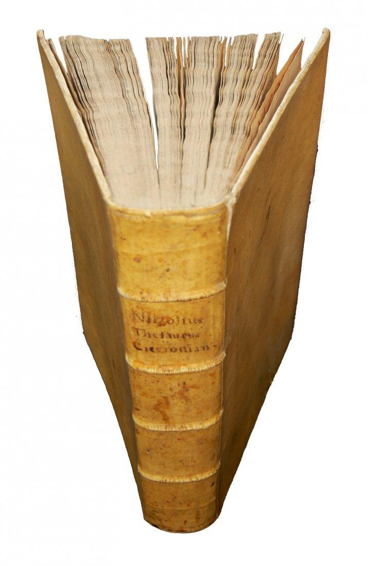 [Dictionaries] Nizzoli, Thesaurus Ciceronianus, 1606 - 2