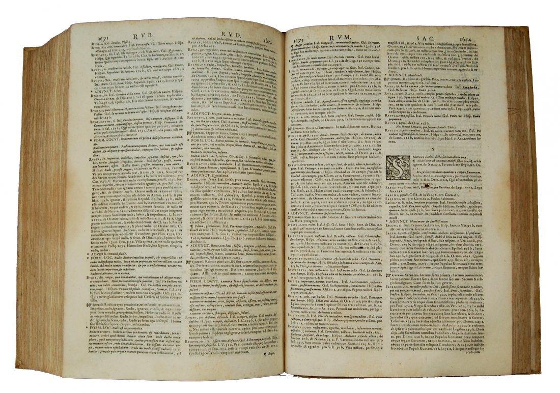 [Dictionaries] Nizzoli, Thesaurus Ciceronianus, 1606 - 5