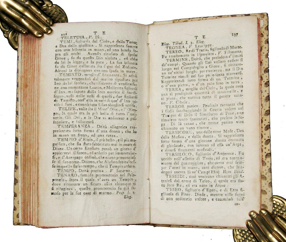 [Fables, Tales] Pasini, Dizionario delle favole, 1777 - 4