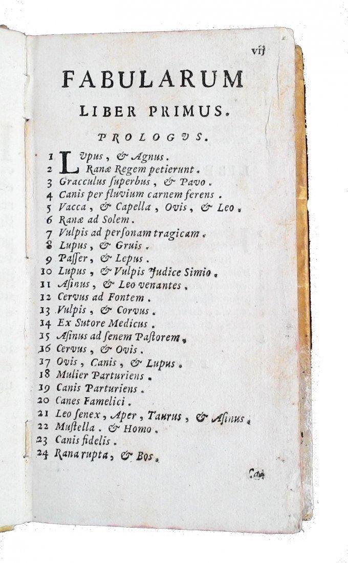 [Fables, Tales] Pasini, Dizionario delle favole, 1777 - 6