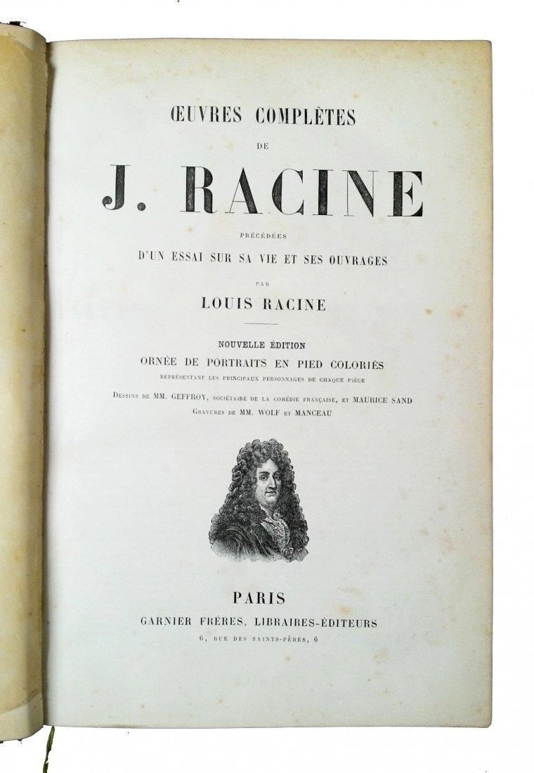[Comedy, Cyrano] Racine-Rostand, 1858-1911, 2 works - 2