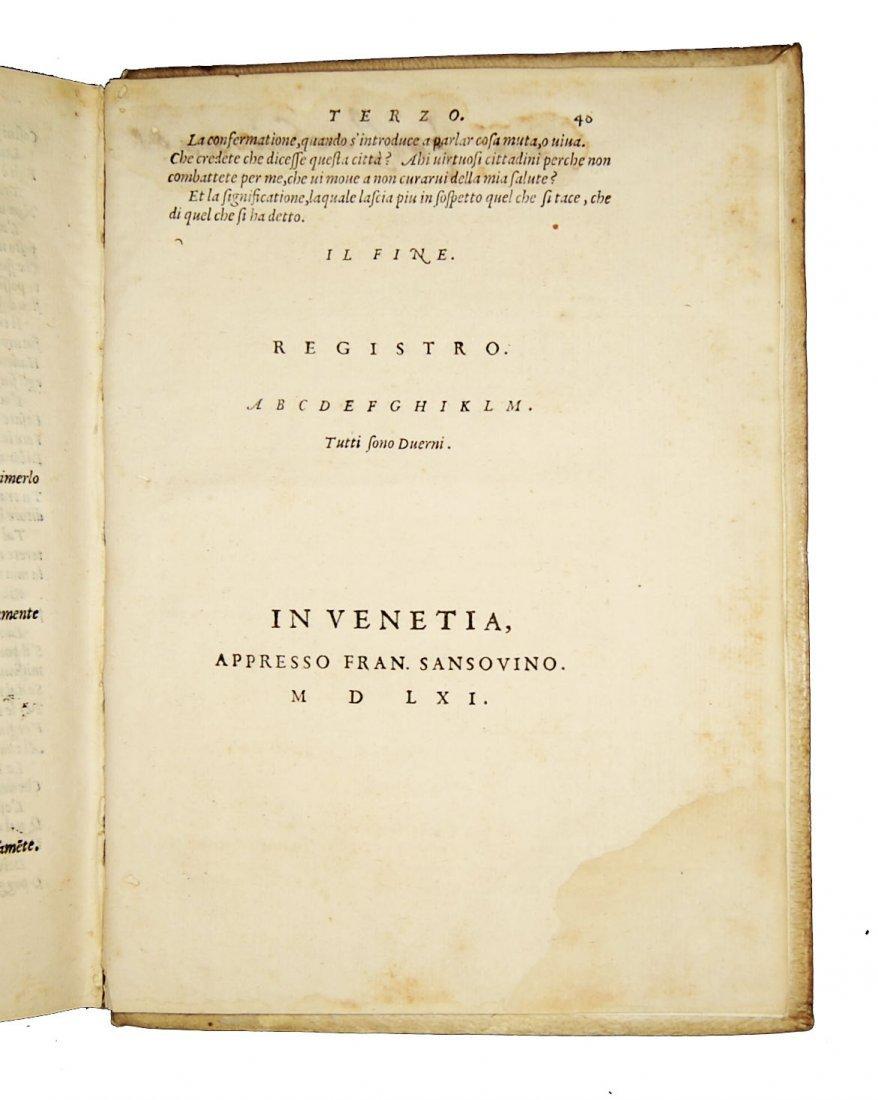 [Art of Memory, Oratory] Sansovino, 1561 - 10