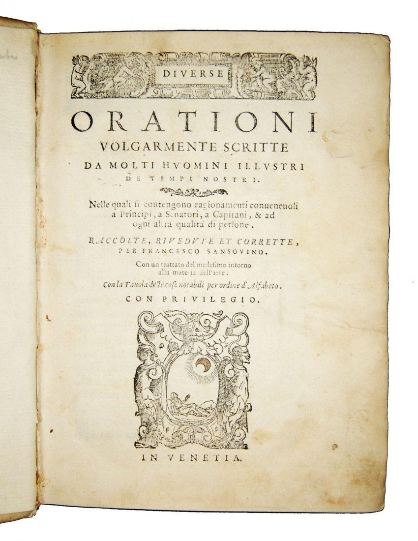 [Art of Memory, Oratory] Sansovino, 1561 - 2