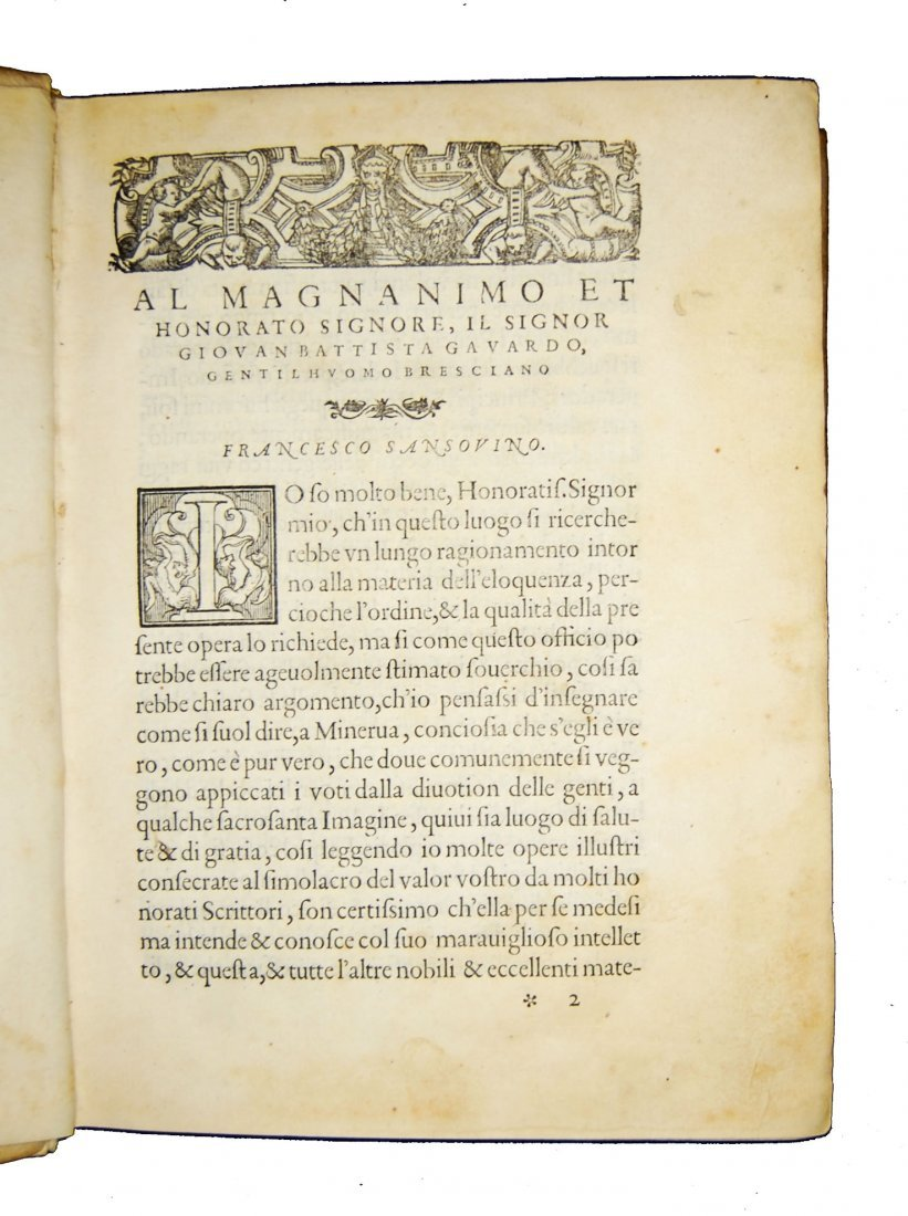 [Art of Memory, Oratory] Sansovino, 1561 - 4