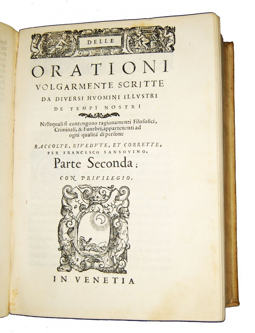 [Art of Memory, Oratory] Sansovino, 1561 - 7