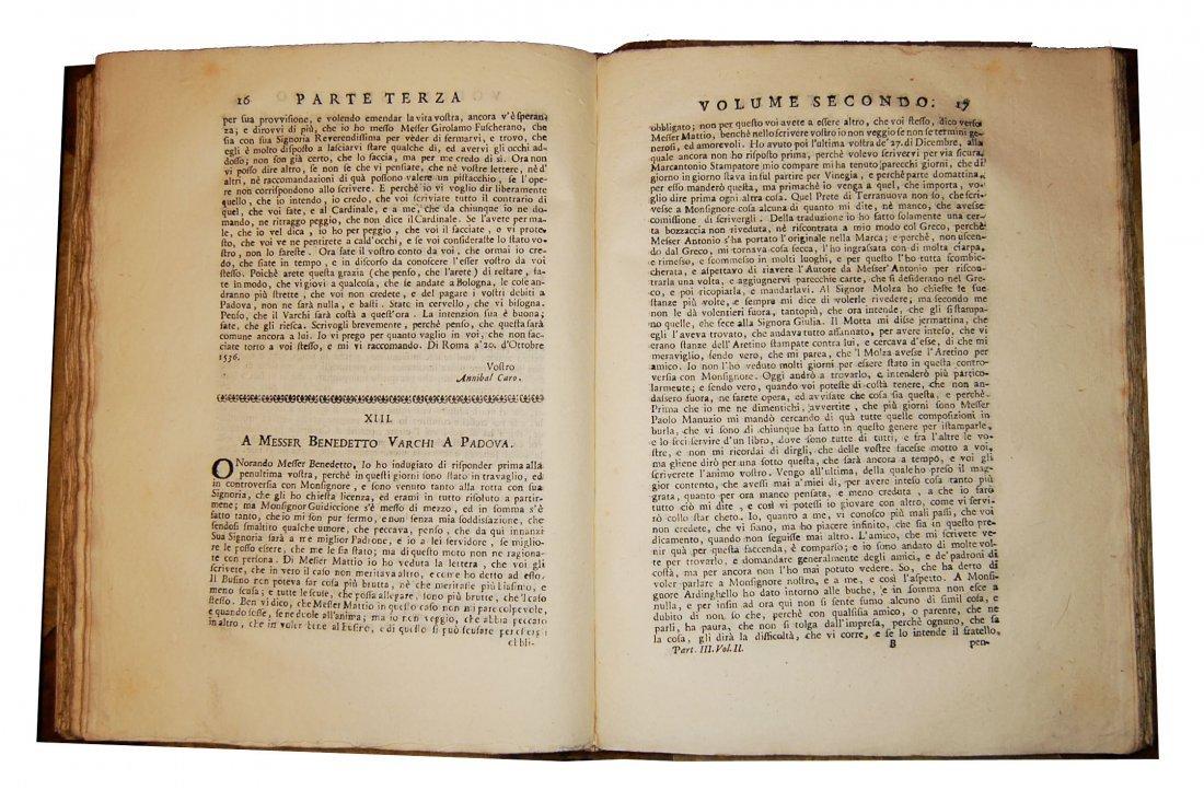 [Prose, Florence] Various A., Prose fiorentine 1735 5 v - 8