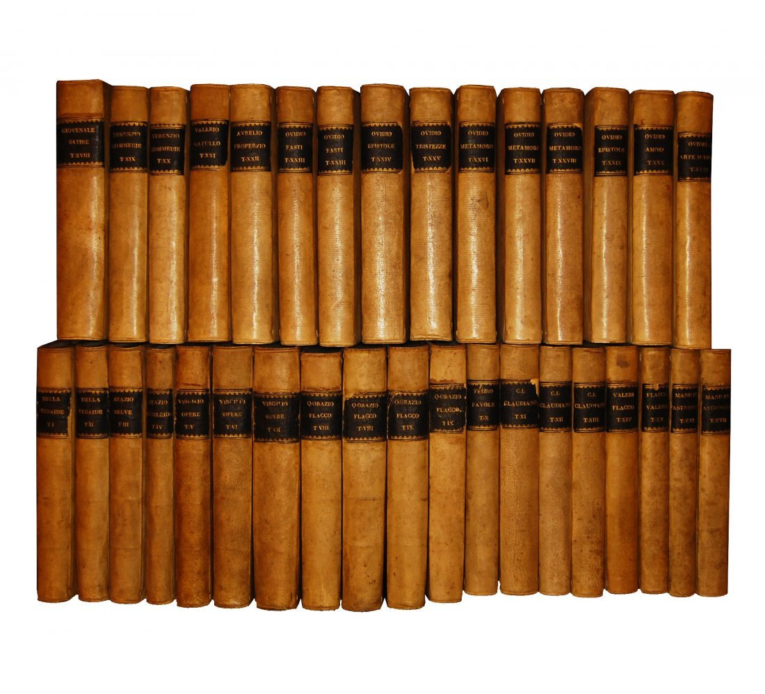 [Classics] Various A., Collection of 22 works, 1733-54