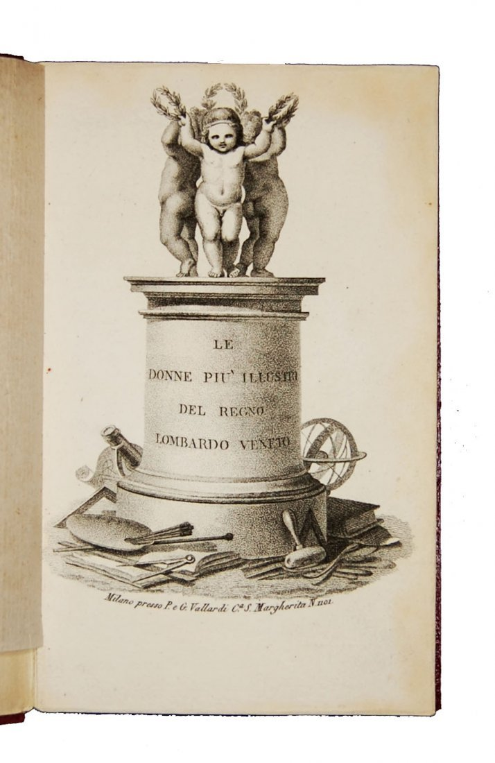 [Women] Various A., Donne del Lombardo-Veneto, 1828 - 2