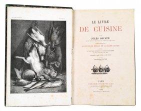 [french Gastronomy] Gouffe, Livre De Cuisine, 1877