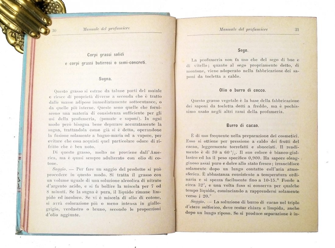 [Perfumes, Manuali Hoepli] Rossi, 1902 - 3