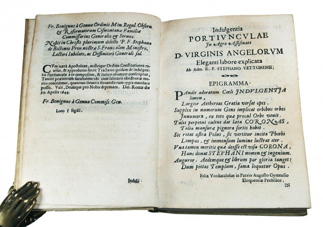 [Assisi, Indulgences] Tofi, 1644 - 5