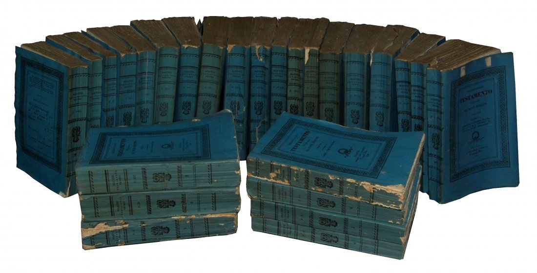 [Bible & Gospels] Martini, 1827-32, 26 vols