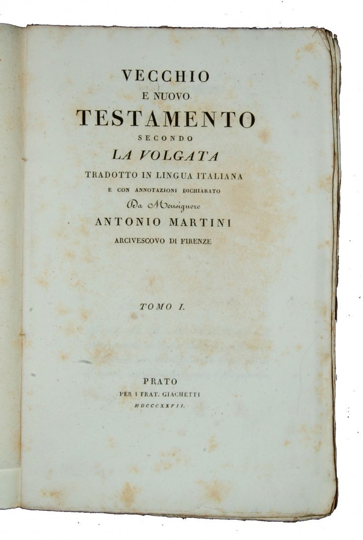 [Bible & Gospels] Martini, 1827-32, 26 vols - 7