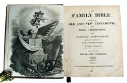 Bible  Gospels Blomfield A new family Bible 1809