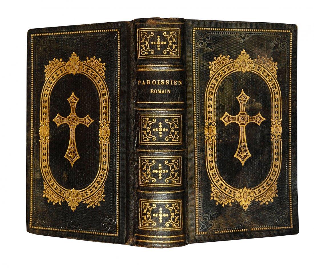 [Ivory Binding, Breviary] Albach, Prieres, 1865 - 2