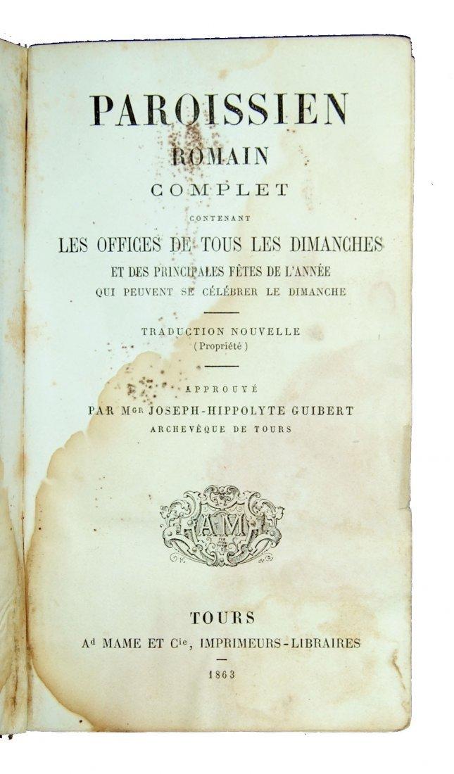 [Ivory Binding, Breviary] Albach, Prieres, 1865 - 3