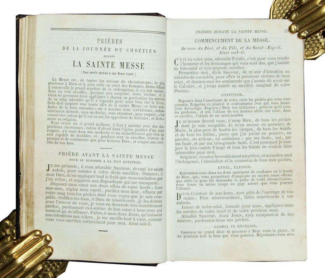 [Ivory Binding, Breviary] Albach, Prieres, 1865 - 5