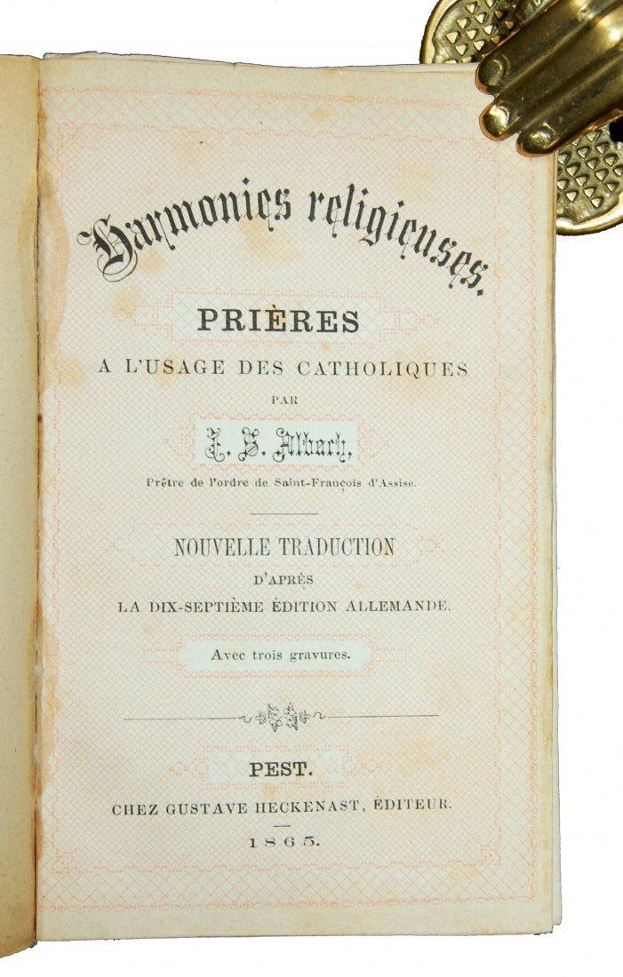 [Ivory Binding, Breviary] Albach, Prieres, 1865 - 8