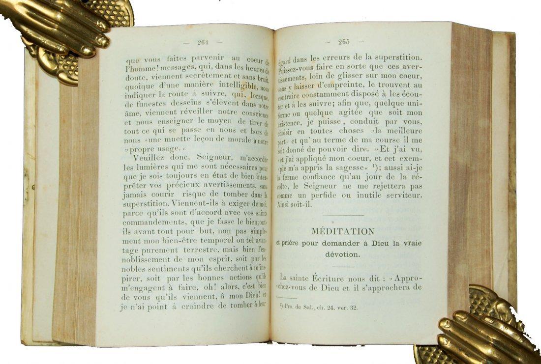 [Ivory Binding, Breviary] Albach, Prieres, 1865 - 9