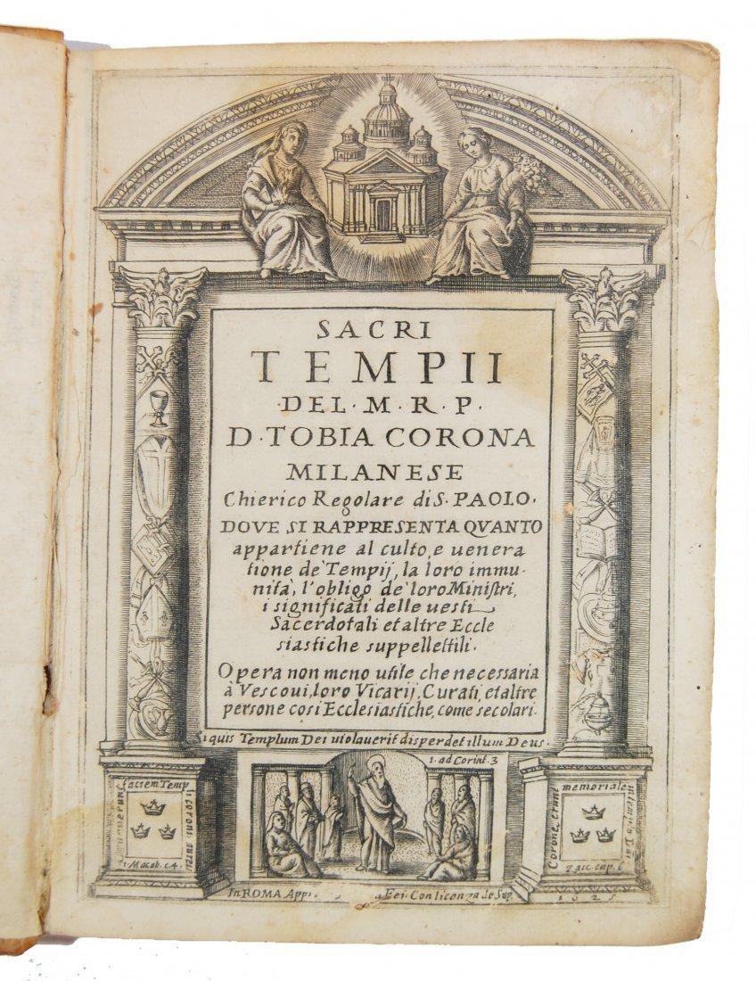 [Churches, Sacred Temples] Corona, 1625 - 2