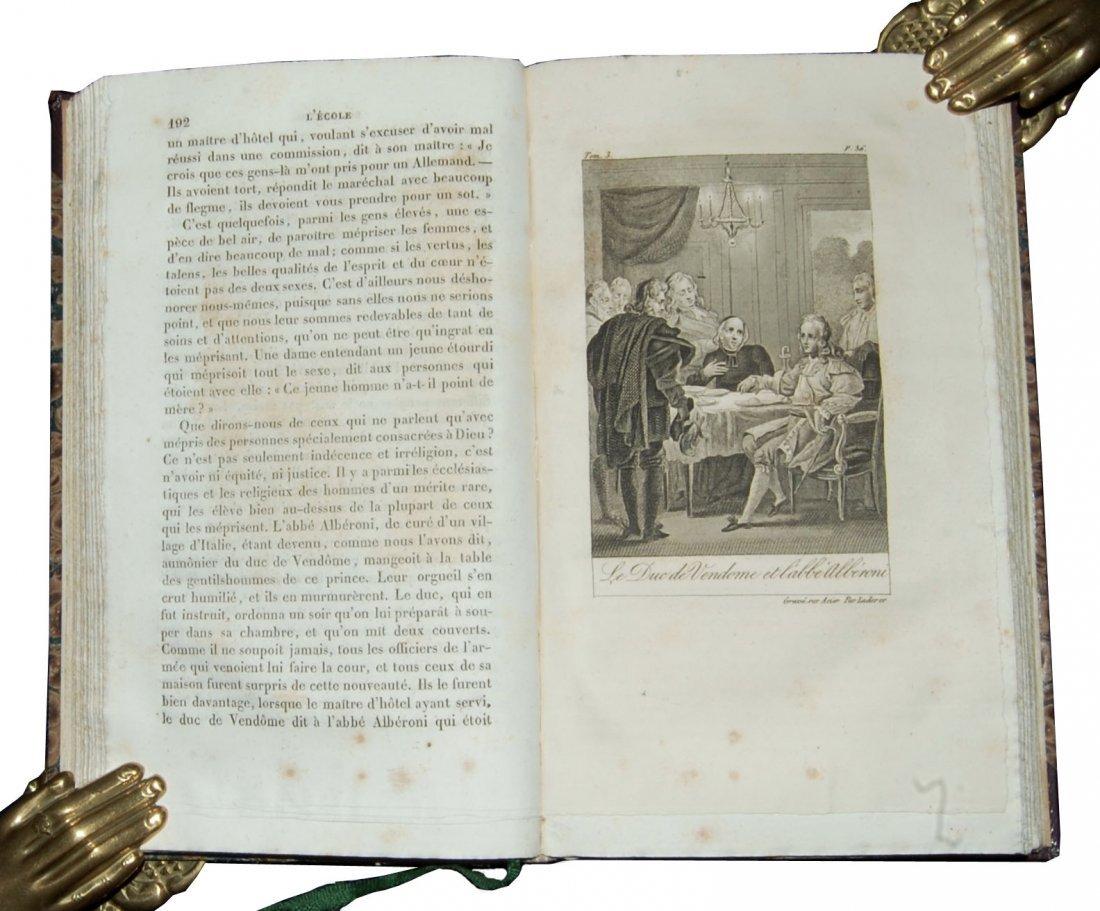 [Ethics] Blanchard, Scuola de' costumi 1825-8, 4 (+2) v - 10