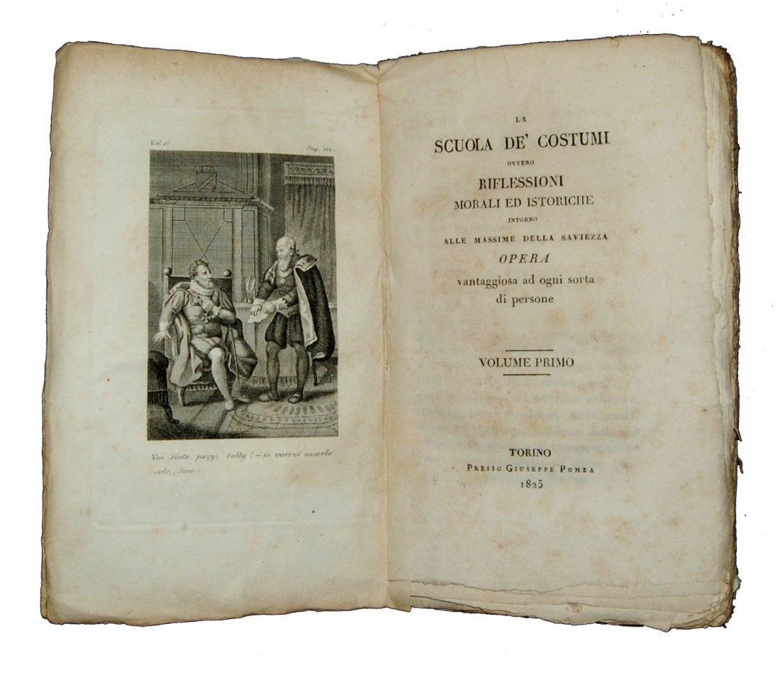[Ethics] Blanchard, Scuola de' costumi 1825-8, 4 (+2) v - 3