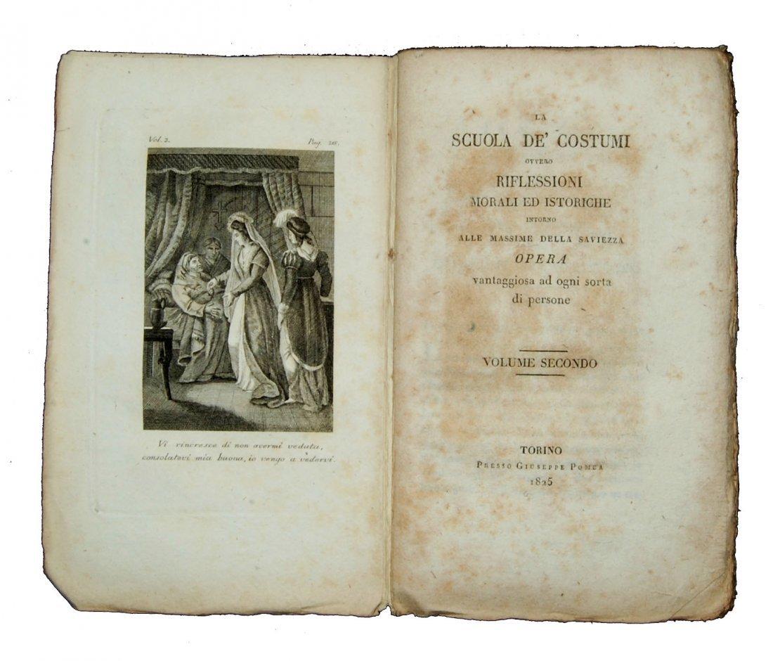 [Ethics] Blanchard, Scuola de' costumi 1825-8, 4 (+2) v - 4