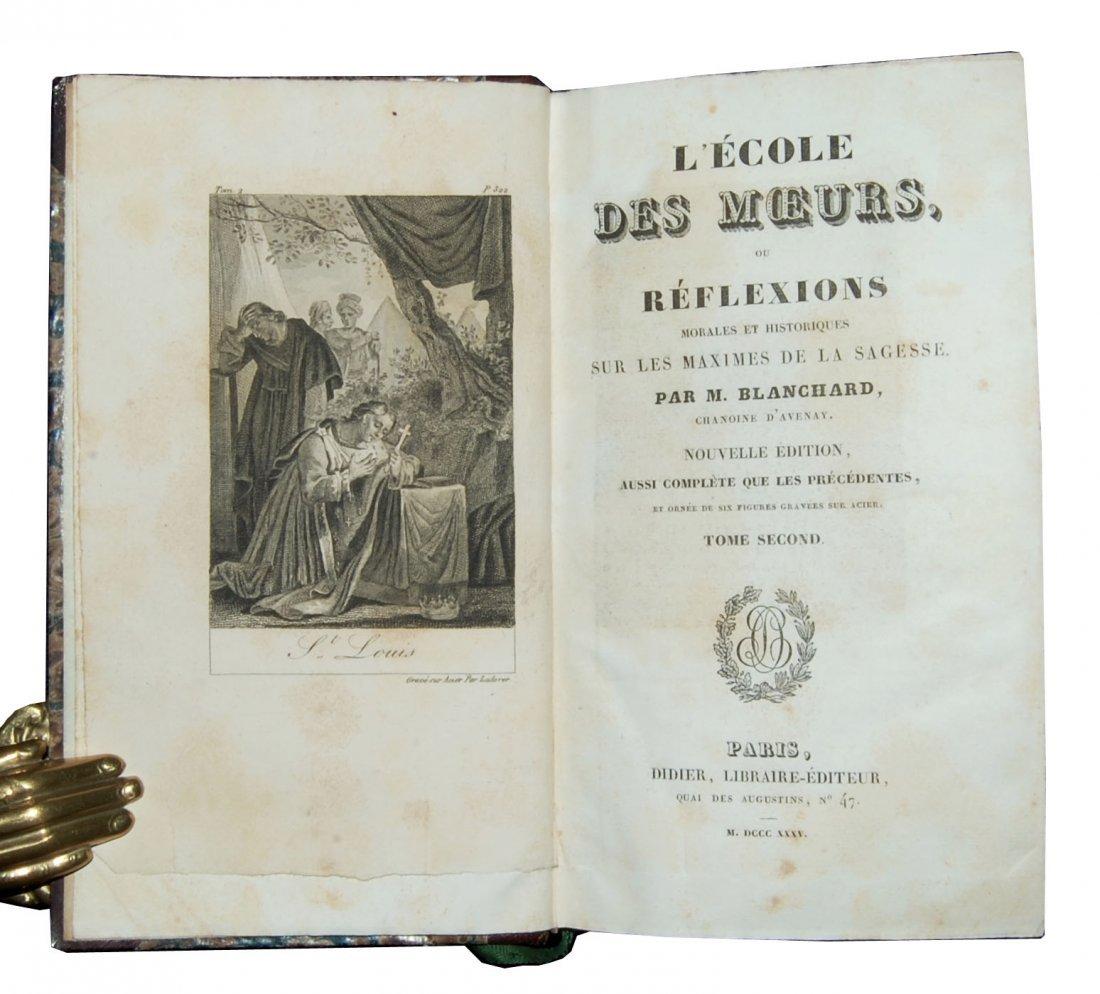 [Ethics] Blanchard, Scuola de' costumi 1825-8, 4 (+2) v - 9