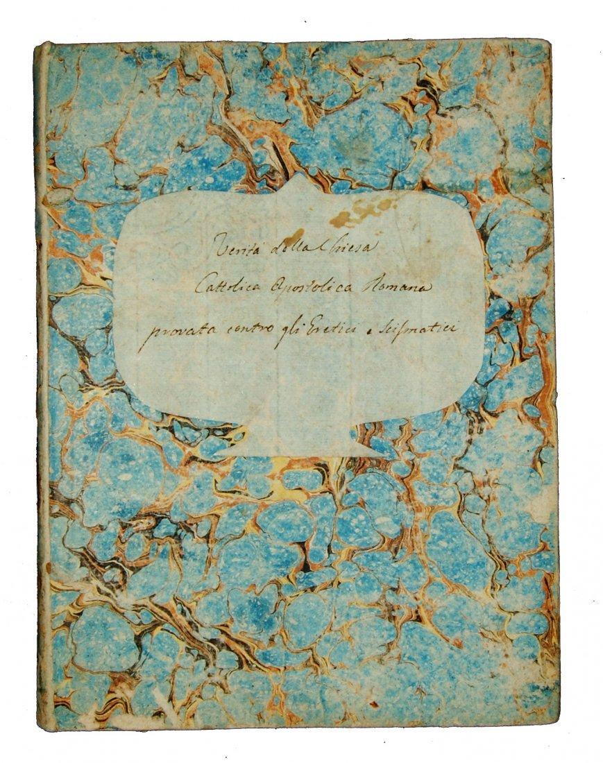 [Manuscripts, Christian Apologetics] Anonymous end 1700