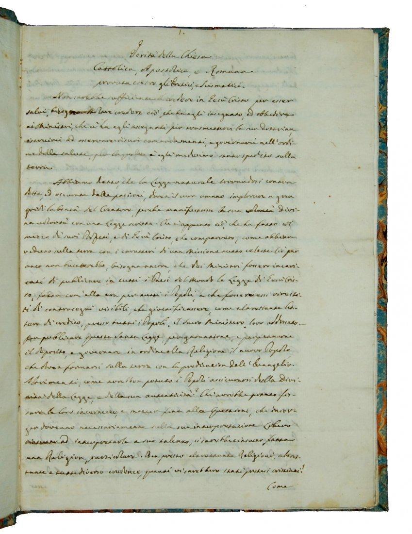 [Manuscripts, Christian Apologetics] Anonymous end 1700 - 2