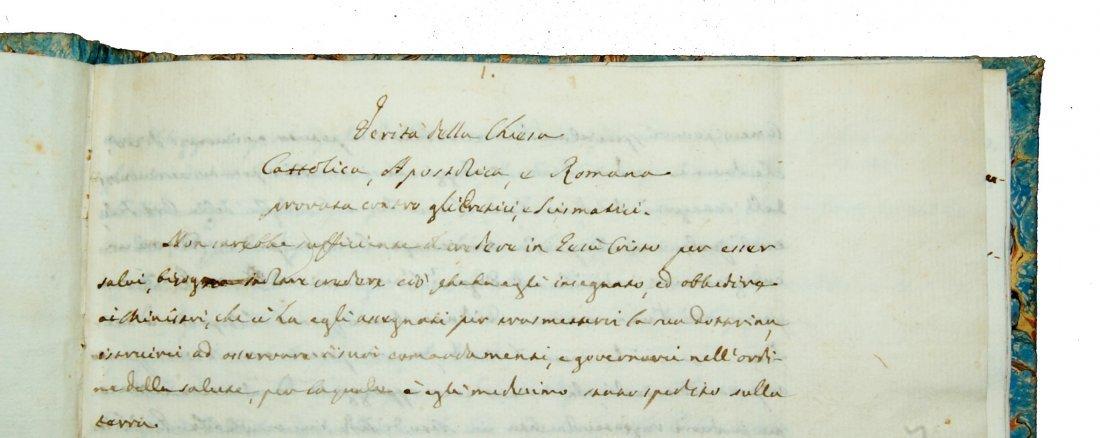 [Manuscripts, Christian Apologetics] Anonymous end 1700 - 3
