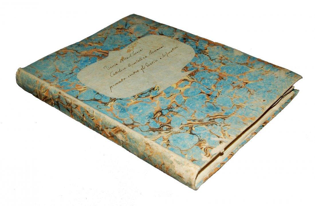 [Manuscripts, Christian Apologetics] Anonymous end 1700 - 6